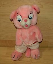 Vintage 1984 Mighty Star Pink Panther and Sons Panky Plush Doll 10""