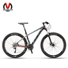 "SAVA DECK300 27.5"" 30 Speed Carbon Fiber Bicycle MTB Mountain Bike SHIMANO M610"