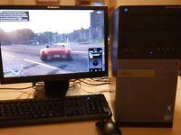 FAST GAMING PC Computer | i5 Quad core 3.4GHz 8GB RAM 1TB  GTX1050 Ti WiFi Win10