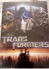 TRANSFORMERS  DVD NUEVO A ESTRENAR CON PRECINTO