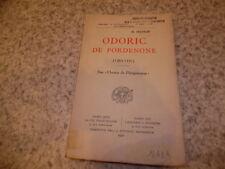 1932.Odoric de Pordenone.Chine.Matrod.Deffontaines (envoi)