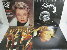 "Elaine Page x 5 Album 12"" record collection job lot music"