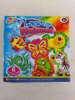 Lace-Up Pictures - Kids - Grafix - 6 Pcs - Used - VGC - Complete - Free P&P