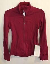 NWT Lululemon Size 4 Define Jacket Red RUBR $118