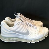Nike Air Max Running Shoes Pure Platinum White Sneakers 849559-009 Mens US 13