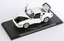 Livraison rapide porsche 911 964 turbo blanc/white welly modèle auto 1:18 nouveau OVP