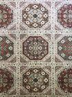 Antique Austrian - 1940s  Viennese Rug - European Handwoven Carpet 6.9 x 10 ft.