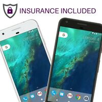 Google Pixel XL GSM Unlocked 32GB 128GB  Black Silver Blue Insurance Included A