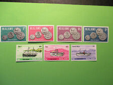 MALAWI 1964 set plus 1967 3x lake steamers MNH Stamps.
