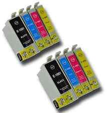 8 T1006 NON-OEM Cartuchos de tinta para la impresora Epson T1001-4 Stylus SX515W SX600FW