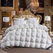 Luxury 100%Goose Down Duvet Full Size Comforter Winter Thick Blanket Solid New @