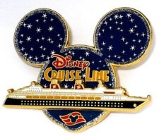 Disney Pin✿3069 DCL Mickey Head Starry Night Cruise Line Ship Stars Sky Retired