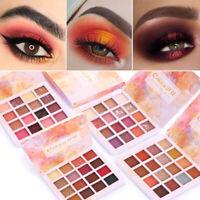 Lidschatten-Palette Schimmer Make-Up Set Wasserdicht  Seidiger Eyeshadow HS
