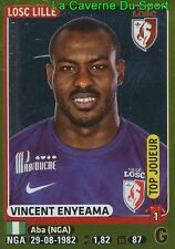 151 VINCENT ENYEAMA # NIGERIA TOP JOUEUR LILLE.OSC LOSC STICKER PANINI FOOT 2016