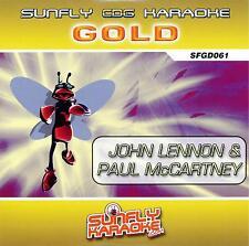 Sunfly Karaoke Gold 61 - John Lennon & Paul McCartney (CD+G) Direct From Sunfly