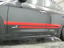 Mini Cooper R60 Countryman Works Sport Stripes two Parallel Stripes in 24 colors