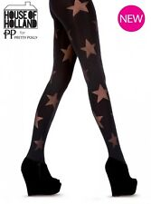 Pretty Polly House of Holland Reverse Star Tights One Size Style Hhaqy4