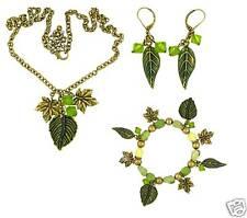 Autumn Leaf Necklace, Bracelet & Earrings SPECIAL PRICE
