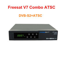 Freesat V7 Combo ATSC North America DVB-S2 ATSC 1080P Satelite Receiver Powervu