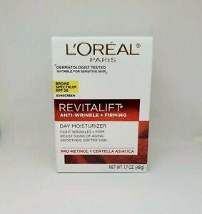 Loreal Paris Revitalift Anti-Wrinkle Firming Day Moisturizer SPF 25 1.7oz