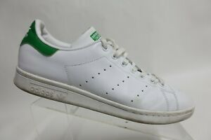 ADIDAS Stan Smith White/Green Sz 11 Men Leather Sneakers