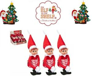 "NAUGHTY CHRISTMAS ELVES BEHAVIN BADLY ON THE SHELF 12"" ELFIE XMAS DOLL PRO NEW"