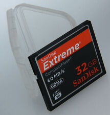 SanDisk EXTREME Compact Flash 32gb 60Mb/s UDMA CF CARD388475 6 7