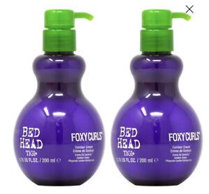 TIGI Bed Head FOXY CURLS Contour Cream Waves Curls 6.76 oz (2 Pack)  $9.99EA