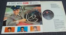 ELVIS PRESLEY - A Date With Elvis RED SPOT LABEL - UK Mono RCA LP