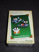 Hallmark Keepsake Ornament, Penguin Races 2005