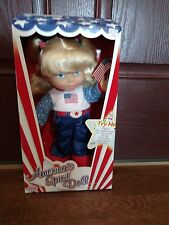 America's Spirit Doll by Uneeda. Sings The Star Spangled Banner 2001 NRFB