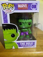 Funko Pop Marvel The Hulk #08 Marvel Universe Vinyl Bobble-Head Vaulted