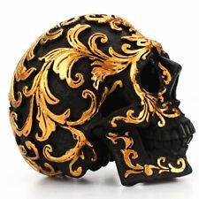 Skull Model Resin Crafts Modern House Decoration Metal Decorative Imitation