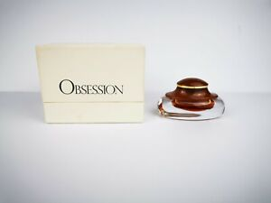 Calvin Klein Obsession Perfume 7.5ml Vintage/Rare Partially Used. Comes With Box