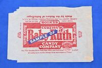 1936 Original BABY RUTH Candy Bar Preserved Wrapper Advertising Collectible RARE