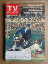 TV GUIDE magazine A5 1980 Picking BASEBALL Winners-KENNY ROGERS-Hostages in Iran