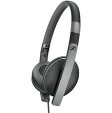 Sennheiser HD 2.30i Black On-Ear Headsets Headphones Foldable for Apple Products