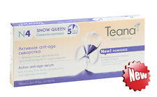 Teana Snow Queen, Active anti-age serum with ceramides for mature skin, 10x2ml