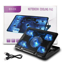 """11-17/""""Adjustable Stand USB Powered Cooling Cooler Pad for Dell Alienware HP iMac"""