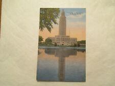 Louisiana Postcard State Capitol at Baton Rouge LA