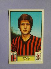 FIGURINA PANINI CALCIATORI SOCCER STICKER N.187  RIVERA MILAN  1975-76 NEW - FIO