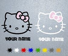 PEGATINA  Hello Kitty Personalizado