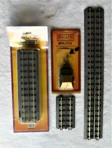 """** MTH """"0"""" SCALE 3-RAIL TRACK + ACTIVATION DEVICE **"""