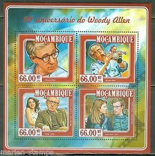 MOZAMBIQUE 80th BIRTH ANNIVERSARY OF WOODY ALLEN  SHEET  MINT  NH