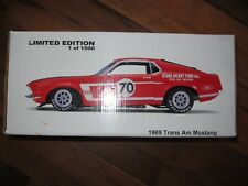 Welly 1969 Ford Trans Am Mustang Boss 302 Red #70 Stark Hickey 69 MB70 1970 Rare