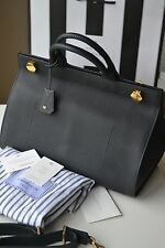 NEW AUTHENTIC ANYA HINDMARCH BLACK EPHSON TOP HANDLE LEATHER TOTE /BAG £1490