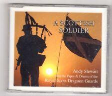 (IK309) A Scottish Soldier, Andy Stewart & Royal Scots Dragoon Guards - 2003 CD