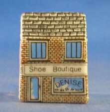 Birchcroft Miniature House Shaped Thimble -- Shoe Boutique