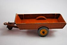 Dinky 320 HALESOWEN FARM Trailer w/ Old Type Grey Wheels & Extra Trailer Hook