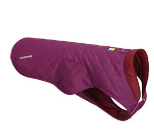 RUFFWEAR STUMPTOWN QUILTED INSULATED JACKET IN LARKSPUR PURPLE SZ SMALL NWOT